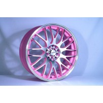 "4 Brand New 15""x5.6 Yazmine Pink Alloy for Vauxhall 4 stud Vectra Astra Mk3"